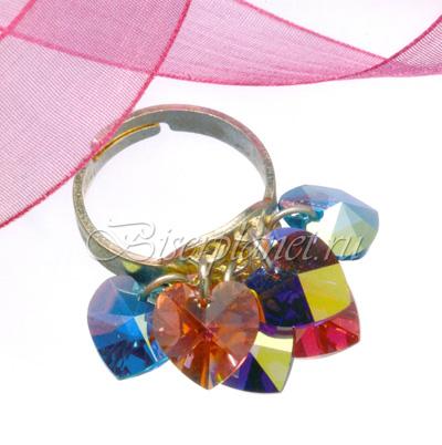 Кольцо Сердечки