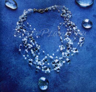 Легкое и воздушное ожерелье