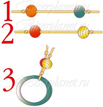 Схема к детской резинкой для