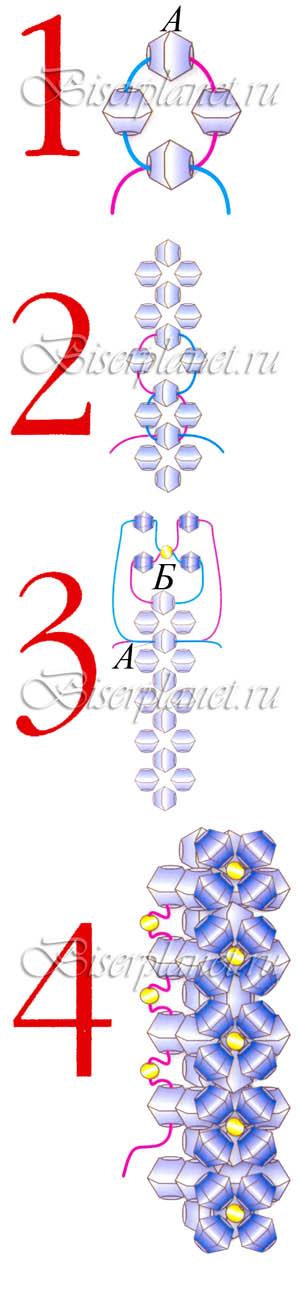 Схема к Кольцу для шейного платка