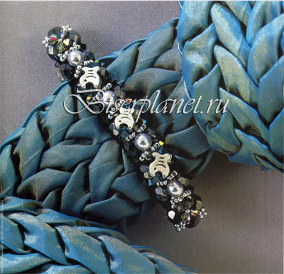 плетение бисером ткачество схемы