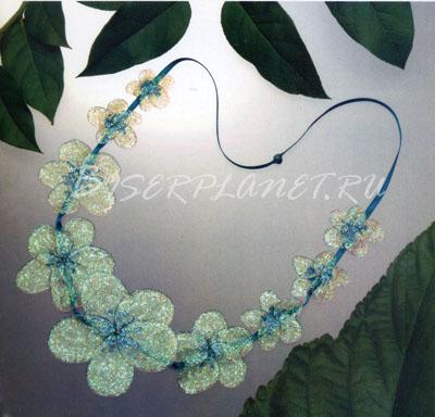 Цветы из пластикового геля